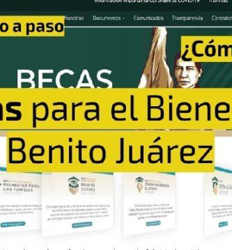 Registros Y Cobros Beca Benito Juárez