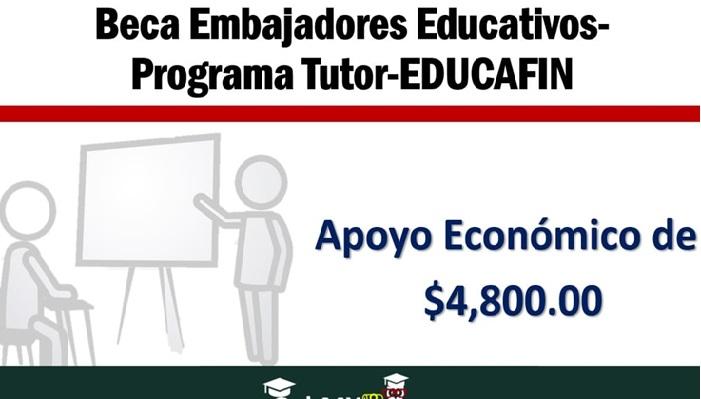 Becas Embajadores Educafin Una Opción Para Ti